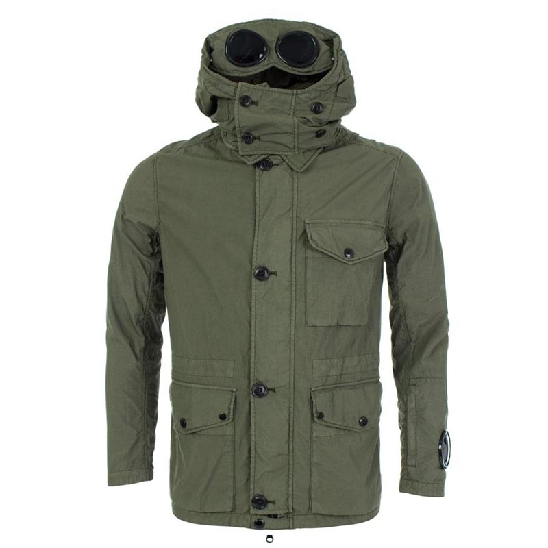 CP Company Nylon Hooded Field Goggle Jacket